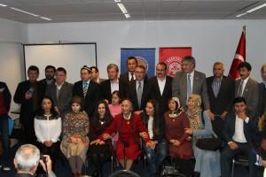Hollanda Uygur Vakfi Rabia Kadir Sevenleriyle