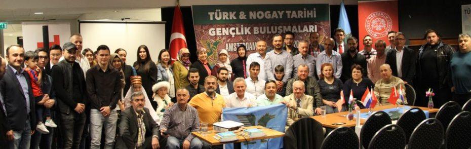 Amsterdam'da Türk-Nogay Gençlik Buluşmaları toplantısı yapıldı